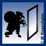 Einbruchschutz Icon